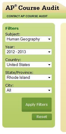 Where is an AP course being taught? | Advance Placement Human Geography | Scoop.it