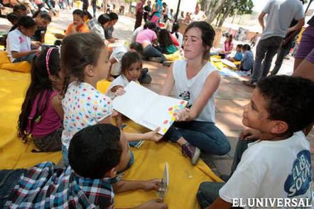 Biblioteca itinerante busca acercar a los niños a la lectura - El Universal (Venezuela) | Bibliotecología | Scoop.it