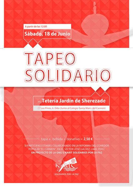 PERU - La ONG Karit Solidarios organiza su segundo tapeo para recaudar fondos para un comedor social en Perú | ONG's en PERÚ | Scoop.it