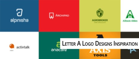 35 Letter A logo Designs - Typographic Logo Inspiration Series | Print, web & motion design | Scoop.it