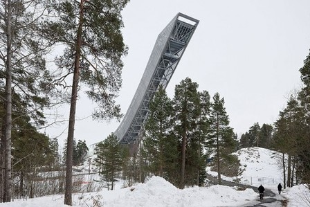 [Oslo, Norway] New Holmenkollen Beacon / JDS | The Architecture of the City | Scoop.it