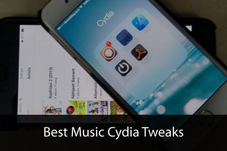 Best Music Cydia Tweaks for iOS 8: Add Some Exciting Flavour to Stock Music App | Cydia Tweaks | Scoop.it
