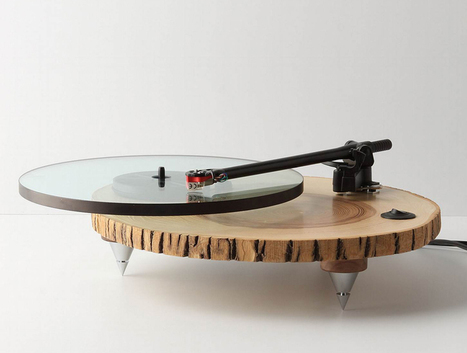 audiowood barky turntable by joel scilley | What Surrounds You | Scoop.it