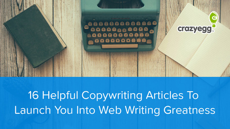 16 Copywriting Articles To Launch You Into Writing Greatness | Artdictive Habits : Sustainable Lifestyle | Scoop.it