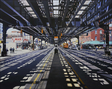 Amazing Photorealistic Painted Street Scenes Of New York, Chicago & Other Cities | The Creative Commons | Scoop.it