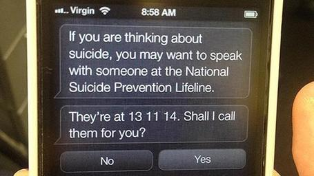 Apple's Siri update provides mental health support for those with suicidal thoughts | Curtin iPad User Group | Scoop.it