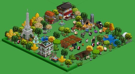 FarmVille: Parisian Model Farm shows off decorating ideas with new items - Games.com News (blog) | Get Down On The Farm With Facebook and FARMVILLE | Scoop.it