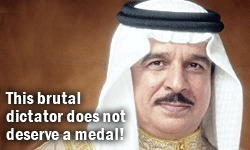 Tell King Hamad bin Isa Al Khalifa - Kansas City, U.S.A. wants its medal back! | Human Rights and the Will to be free | Scoop.it