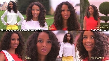 Photos : La sexy Flora Coquerel, Miss Orléanais, est Miss France 2014 | Radio Planète-Eléa | Scoop.it