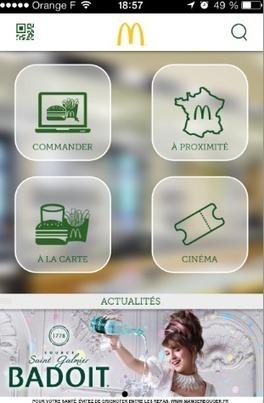Innovation: McDo offre la commande en quelques clics | Veille, marketing, digital, content | Scoop.it