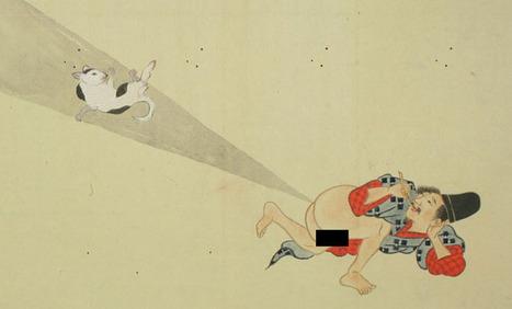 Japanese Fart Scrolls | Strange days indeed... | Scoop.it