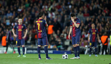 Barcelona Humiliated 7-0 On Aggregate By Bayern Munich (PICTURES) - Huffington Post UK | UEFA Champions League | Scoop.it