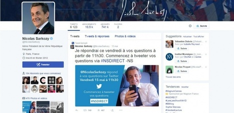 Pourquoi l'opération de com' de Sarkozy sur Twitter est un naufrage | Communication - Marketing - Web | Scoop.it
