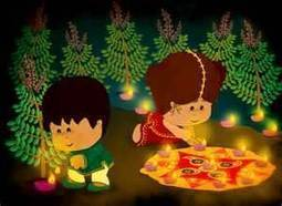 Diwali Paintings for Kids | Latest Handicraft News | Scoop.it