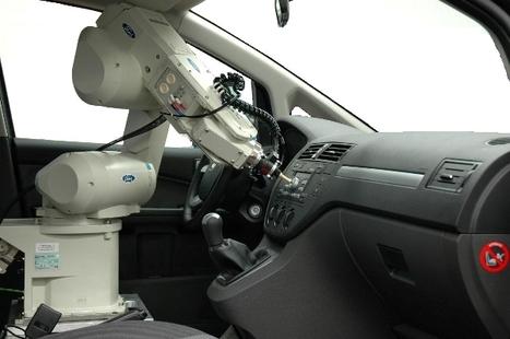 RUTH : le robot de Ford capable de tester le confort des voitures. | Les robots domestiques | Scoop.it