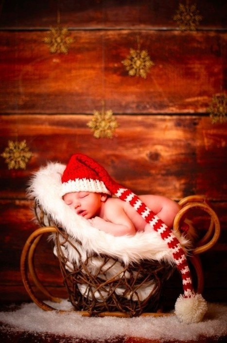 29 Babies Who Totally Nailed Their First Christmas Photo Shoot | Cute Kids | Scoop.it
