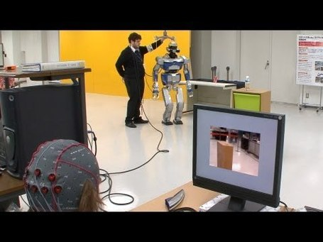Mind controlled android robot - Researchers working towards robotic re-embodiment | leapmind | Scoop.it