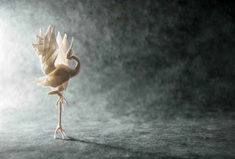 Incredible Origami Art By Spanish Artist Gonzalo Calvo | Oh, Flamboyant World! | Scoop.it