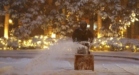 #Blizzard paralyzes East Coast affecting over 85 million people | Messenger for mother Earth | Scoop.it