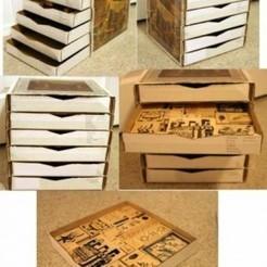 Come trasformare cartoni di pizza in una cassettiera | Riciclo Creativo | Scoop.it