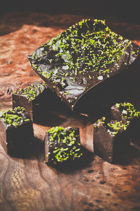 Easy dark chocolate fudge with sea salt and lime - Metro | Candy Buffet Weddings, Events, Food Station Buffets and Tea Parties | Scoop.it
