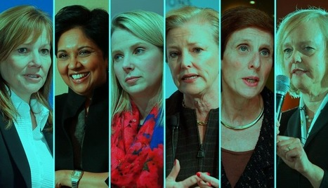 Female CEO's : Is Their Equality At The Top? | Women in Business | Scoop.it