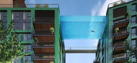 À Londres, une piscine en verre suspendue entre deux immeubles | Dans l'actu | Doc' ESTP | Scoop.it