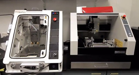 Microfactory adds milling and etching to its 3D printer (video) | Peer2Politics | Scoop.it