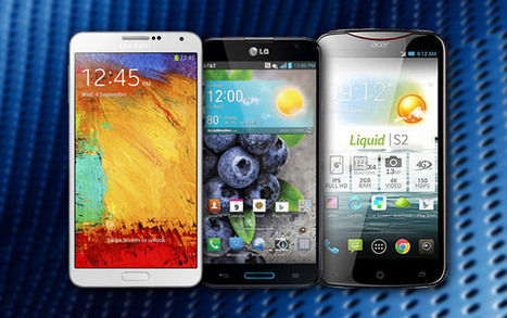 Samsung Galaxy Note 3 vs. LG G Pro vs. Acer Liquid S2: Phablets unleashed - GSMArena.com (blog) | Samsung | Scoop.it
