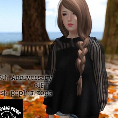 Mesh Peplum Tops Group Gift by La Petite Fleur | Teleport Hub - Second Life Freebies | Second Life Freebies | Scoop.it