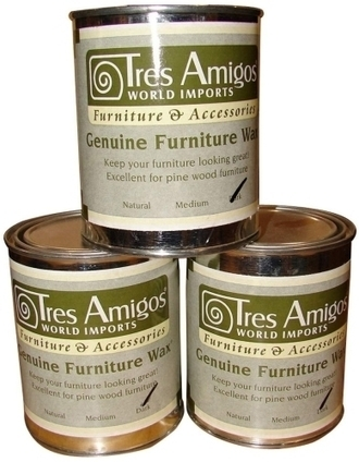 Tres Amigos Furniture Wax 2 Sizes | Mexican Furniture & Decor | Scoop.it