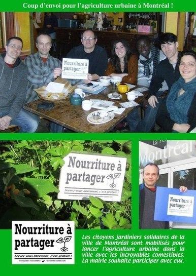 MONTRÉAL: Les Incroyables Comestibles s'installent dans la ville   Chuchoteuse d'Alternatives   Scoop.it