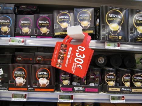 BRI en forme de tasse pour Nescafé positionné en rayon | Marketing et Promotions | Scoop.it