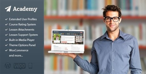 Academy - Learning Management Theme  Download   df   Scoop.it