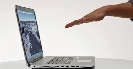 Bold... HP Debuts First PC With Built-In Leap Motion | Technology and Gadgets | Scoop.it