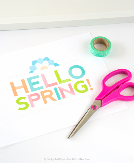 Free Printable Spring Wall Art - I Heart Nap Time   Style & Fashion   Scoop.it