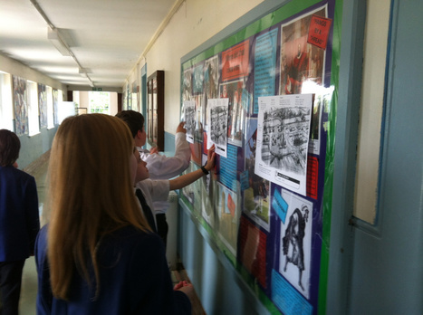 An example of a Gallery Walk lesson - medieval villages | Current Events | Scoop.it