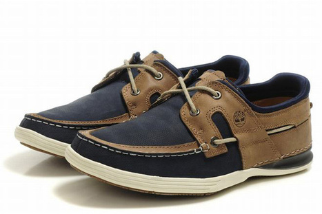 Timberland Earth Keepers Cupsole 2 Eye Boat Shoe Blue Brown Mens | my style | Scoop.it