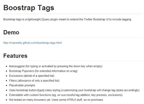 Useful stuff for Twitter Bootstrap users | ANTONOFF+ | Amazing articles about Web development and other stuff | Scoop.it