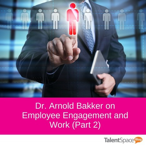 Dr. Arnold Bakker on Employee Engagement and Work (Part 2) | Industrial Organizational Psychology | Scoop.it