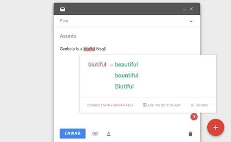 Corrige tu ortografía y gramática en inglés con la extensión de Grammarly para Chrome | Personal [e-]Learning Environments | Scoop.it