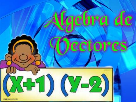 1.1 Definición de un vector en R2, R3 y su Interpretacióngeométrica. | Calculo Vectorial | Scoop.it
