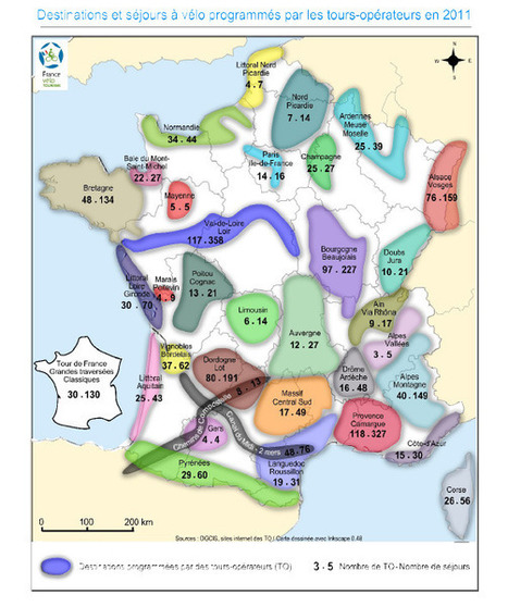 Séjours à vélo des tours-opérateurs en France en 2011 | Tourisme de randonnée - Sports et loisirs de nature en France et ailleurs.. | Balades, randonnées, activités de pleine nature | Scoop.it