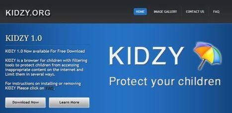Kidzy, navegador web enfocado para la navegación segura de los menores | Edu-Recursos 2.0 | Scoop.it
