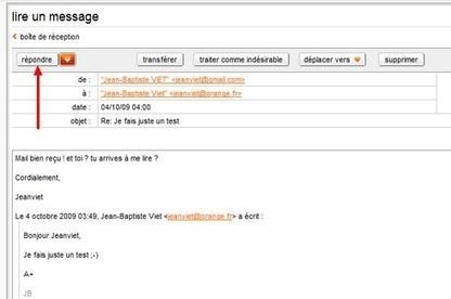 consulter et envoyer un email depuis une adresse orange | Souris verte | Scoop.it