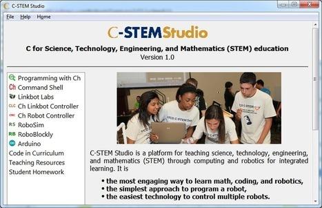UC Davis Center for Integrated Computing and STEM Education » C-STEM Studio | STEM Connections | Scoop.it