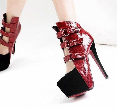 Discount China Wholesale Fashion Platform Snake grain Splice Openwork Kvoll D68835 [D68835]- US$23.08 - www.wholesaleshoes8.com | Kvoll | Scoop.it