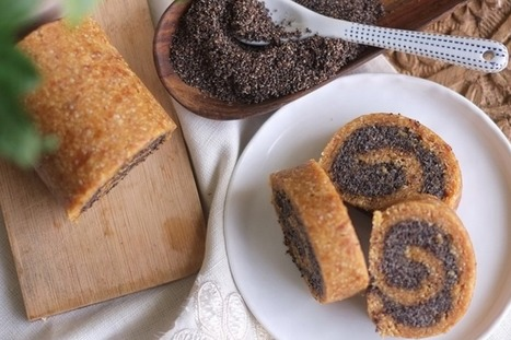 Weekend Brunch Poppy Seed Roll [Vegan, Raw, Gluten-Free] | My Vegan recipes | Scoop.it
