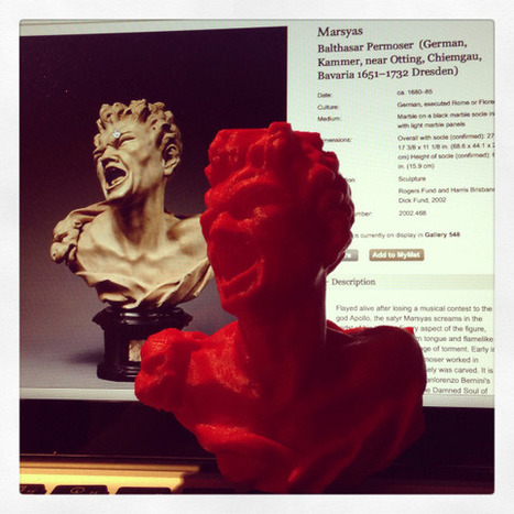 The Coolest Art Made With 3D Printers | 3d Print | Scoop.it