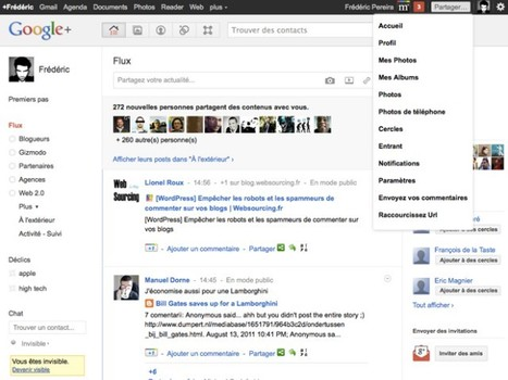 Google+ Manager, l'extension ultime pour Firefox. | SocialWebBusiness | Scoop.it